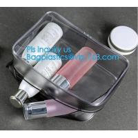 China makeup bag mini clear PVC cosmetic bag, PVC makeup Bag Pouches Tote Clear Transparent Cosmetic Travel Bag, carry, handle on sale