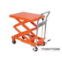 Wholesale Compact Structure Mobile Hydraulic Lifting Table With Electrical Controlling System from china suppliers