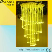 Wholesale Meeting Room Sprial Fiber optic lighting chandelier(OFC-011) from china suppliers