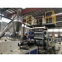 Wholesale 0.5-2mm Rigid PVC Sheet Extrusion Line Customized Product Width With Protective Film from china suppliers
