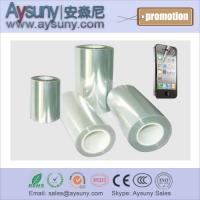Wholesale Clear Three liner PET protection film roll Smart phone screen protector film roll from china suppliers