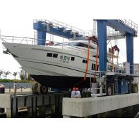 Wholesale Mobile Harbour Portal Crane / Shipyard Gantry Crane 100 Ton For Boats Lifting from china suppliers