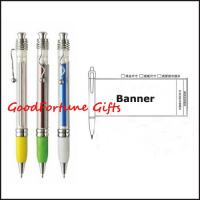 China Promotion gift Simple Banner Ballpoint Pen on sale