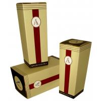 Wholesale Yellow 1.0mm Paper Board + Coated Paper + Silk Wine Packaging Boxes Stamping from china suppliers