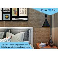 Korean Style Contemporary Wall Coverings / Non Woven Wallpaper with