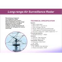 Wholesale High Accuracy Air / Land Surveillance Radar System Of Long Range Detection from china suppliers