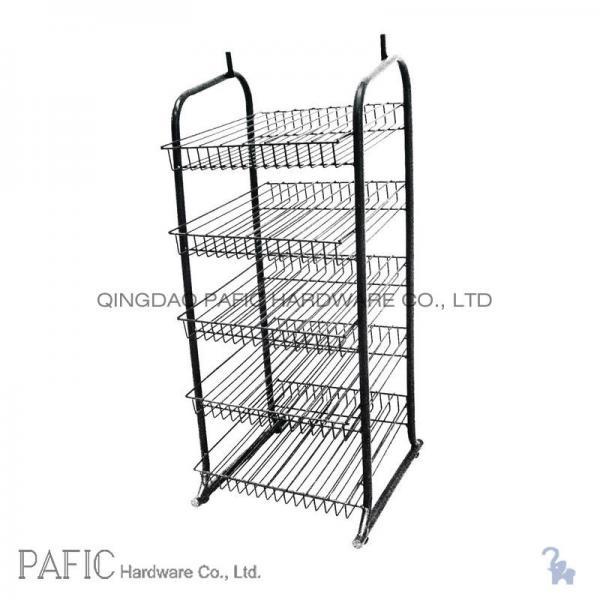 promotional 5 tier steel retail display stands free. Black Bedroom Furniture Sets. Home Design Ideas