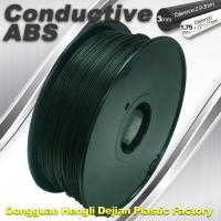 Wholesale ABS Conductive 3D Printer Filament 1.75mm / 3.0 mm from china suppliers