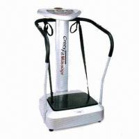 China Whole body vibration machine, CE, EMC and LVD certified, RoHS Directive-compliant on sale