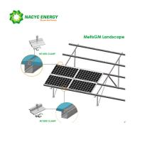 Silver Ground Mount Solar Racking Solution Easy Installation Economical And Practical