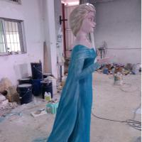 Wholesale Outdoor Garden deco cartoon statue frozen character statue in garden/ plaza/ shopping mall from china suppliers