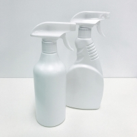 China Fine Mist 500ml Plastic Spray Bottle For Alcohol Disinfection on sale