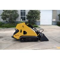 Quality Mobile Articulated 1.123L 18.5KW Mini Skid Steer Loader for sale
