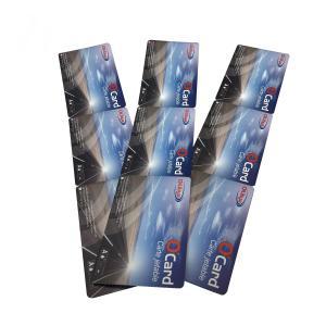 China Custom Printed HF RFID Paper Event Tickets 13.5-14.5Mhz Ultualight EV1 Chip on sale