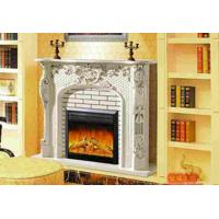 Wholesale Customized Remote Control Antique Decorative Resin fireplace With Deco Flame from china suppliers