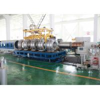 Wholesale Single Screw PVC Pipe Production Line SBG1000 Double Wall PVC Pipe Molding Machine from china suppliers