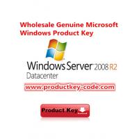 Wholesale Windows Server key, Windows Server 2008 R2 Datacenter FPP Activation Key from china suppliers