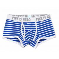 Wholesale Pure Cotton Short Trunks Underwear Contour Pouch Mens Low Rise Trunk Underwear from china suppliers
