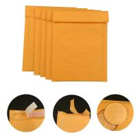 Wholesale #000 4x8 Secure self-seal Golden Yellow Kraft Bubble Padded Mailers for shipping mailing supplies from china suppliers