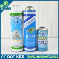 Wholesale Purity more than 99.9% Air condition gas r134a with CE certification from china suppliers