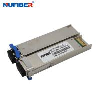 Wholesale Hot Pluggable XFP Optical Fiber Module 10Gb/S With SM Duplex LC 1550nm from china suppliers