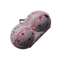 Wholesale Sweet pink heart design bra travel case from Mybrabag from china suppliers