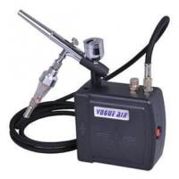 Wholesale AC100~240V 0.6A 7cc Professional Airbrush Makeup tattoo Kit - with dual action airbr from china suppliers