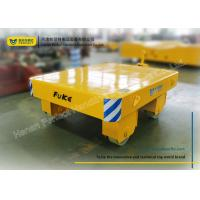 Wholesale Yellow Die Transfer Cart Towing Trailer Platform Table For Molds Plant from china suppliers