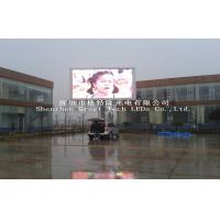G7 P10 Full Color Outdoor Advertising LED Display Screen With RGB SMD