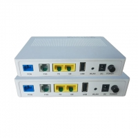 Wholesale 802.11 B/G/N Dual Mode 1GE 1FE FTTH GPON EPON XPON ONU WIFI With 1 POTS from china suppliers