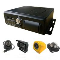 Wholesale Realtime Monitoring GPS G-sensor school bus vehicle Security Camera System mobile DVR 4Ch 3G from china suppliers