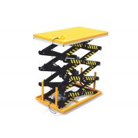 Wholesale Stationary Hydraulic Scissor Lift Platform 5 Ton For Goods Transportation from china suppliers