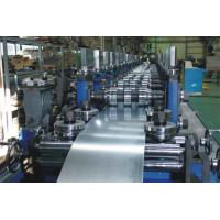 Wholesale G.I Coil / Carbon Purlin Roll Forming Machine With Touch Screen from china suppliers