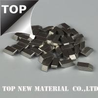 China Timber Industry Cobalt Chrome Alloy Saw Tips High Temperature Resistance Silver Color on sale