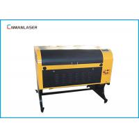 China 80W 6090 Leather CO2 Laser Engraving Cutting Machine With LCD Control Water Cooling on sale