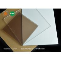 Wholesale Non Glare Plexiglass Sheets Colored Transparent , Pass Thermal Shock Test from china suppliers