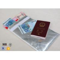 Wholesale Smooth Surface Fiberglass Document Cash Bags Red Polyester Fabric Inner Layer from china suppliers