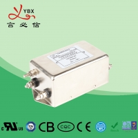 Wholesale Yanbixin Single Phase EMI RFI Noise Filter 6A 110V 250V ROHS Certification from china suppliers