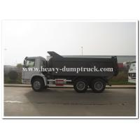 Buy cheap Sinotruk SWZ 336 hp heavy duty dump truck with 20m3 cargo body and strong reinforced frame from Wholesalers