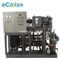 China Automatic Bitzer Piston Parallel Refrigeration Compressor Unit  For Large Cold Storage on sale