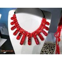 Wholesale Porcelain Handmade Imitate Necklace Absolutely Elegant from china suppliers