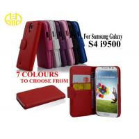 China Leather Protective Cases For Cell Phones , Smart leather iphone card case on sale