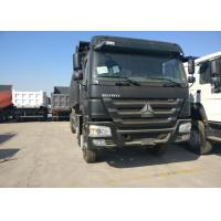 Wholesale 50 Ton Sinotruk HOWO Dump Truck 371HP HW19710 Transmission  LHD from china suppliers