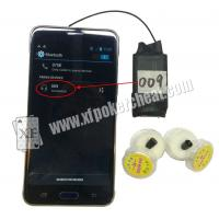 Buy cheap A8 Bluetooth Wilress Earpieces Work With Poker Analyzers And Mobile Phone from Wholesalers