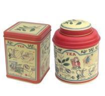 tea can, tea tins, tea case, tea box