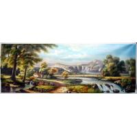 China landscape oil painting on sale
