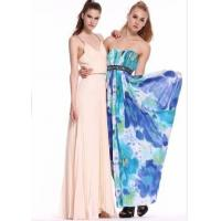 Wholesale Wholesale printing chiffon sweetheart beading prom dresses from china suppliers