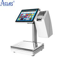 Wholesale PC Touch Screen Scale,Touch Scales,POS Scales,Fiscal Cash Register,PC Scale from china suppliers