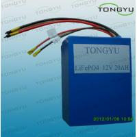 China LiFePO4 12V 20Ah Li-ion Rechargeable Battery Pack For Golf Cart, Electric Bicycle on sale