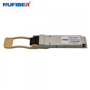 Wholesale QSFP28 100G SR4 Multimode 850nm 100m MPO Fiber Optical Transceiver from china suppliers